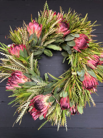 Protea Wreaths // Change and Hope Year Round