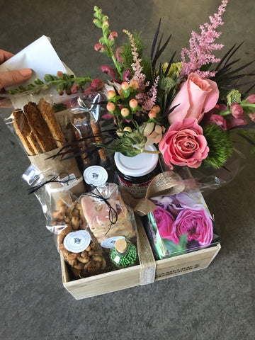 Labor of Love: The Gift Box Gift Box available at Camelback Flowershop
