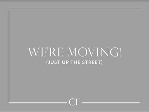 We're Moving // Fall Update