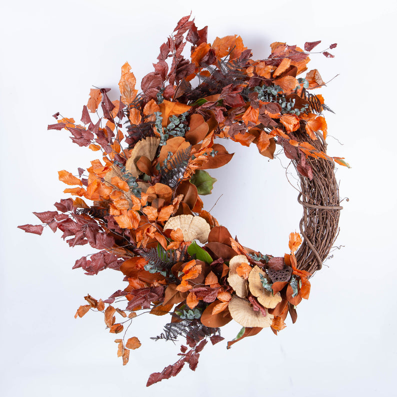 Fall Dried Wreaths