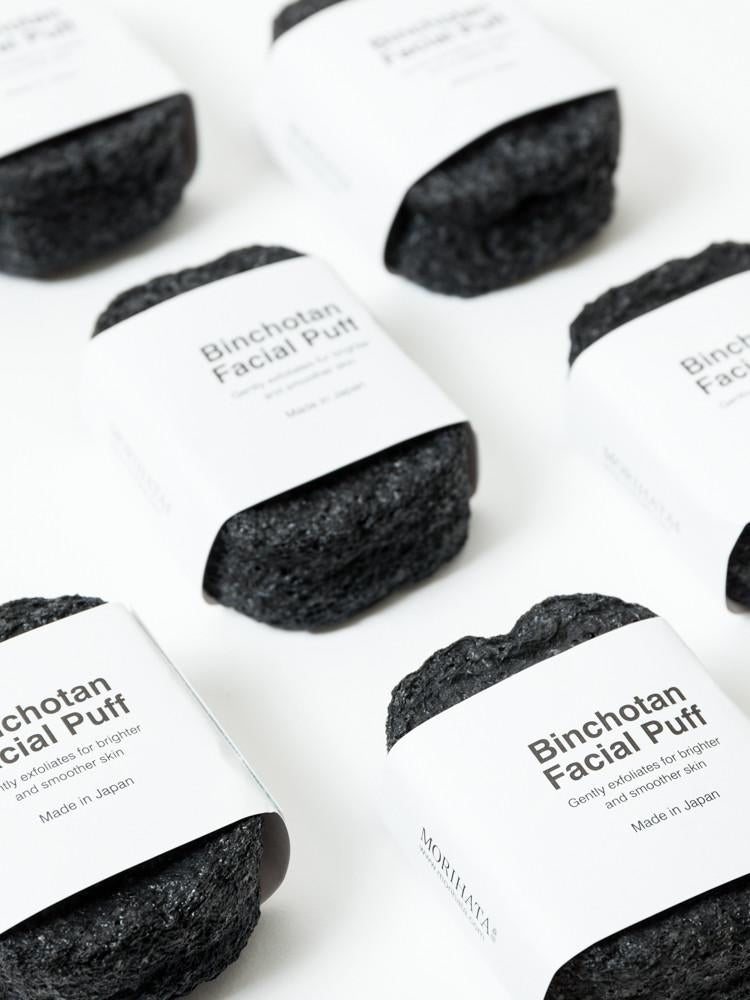 Morihata Charcoal Facial Puff