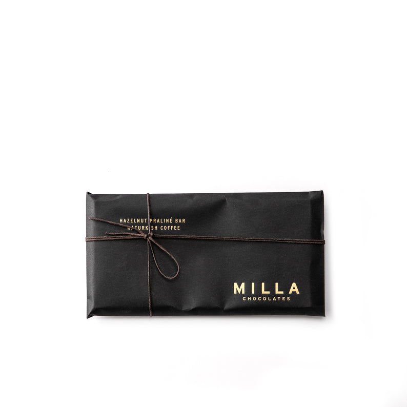 Milla Chocolate Hazelnut Praline Bar with Turkish Coffee