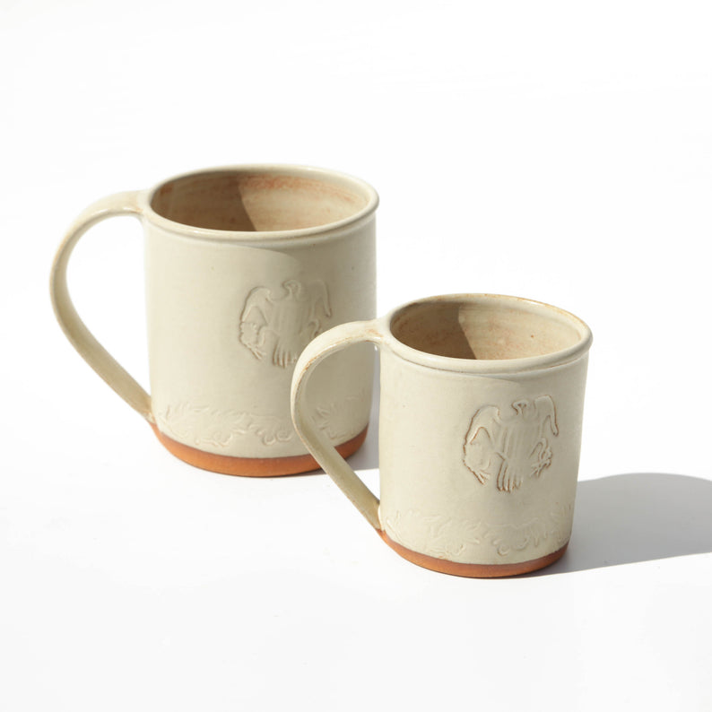Ivory Coffee Mugs