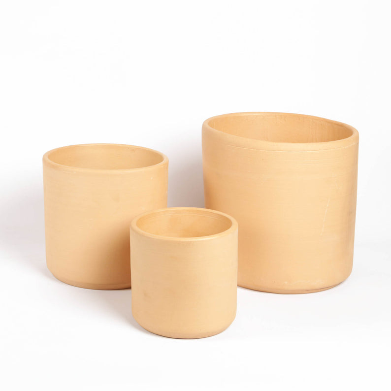 Buff Clay Pots