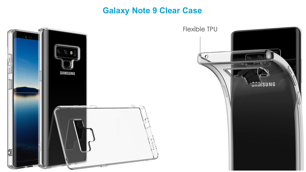 Galaxy Note 9 Clear Case