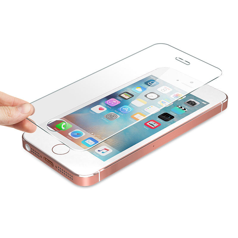 For iPhone SE, 5, 5S Screen Protector Tempered Glass
