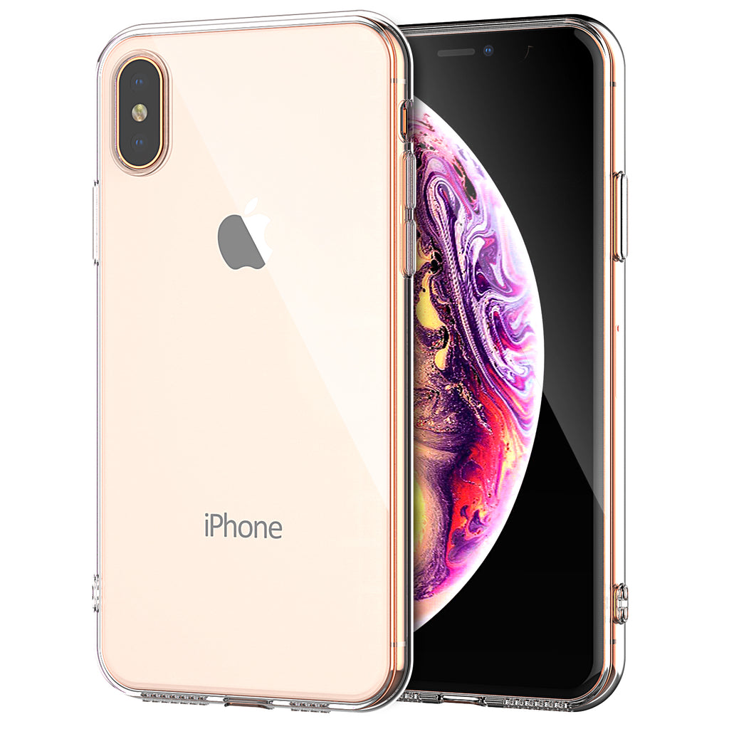 Clear Case For iPhone XS Max Clear Soft TPU