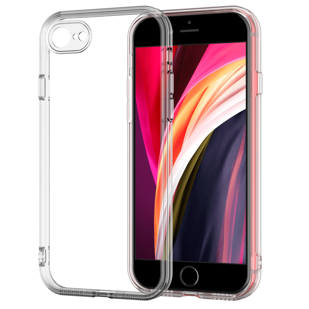 iPhone 7/8 Plus Clear Case TPU Rubber Transparent Silicone Shockproof Clear by Shamo's - Shamo's