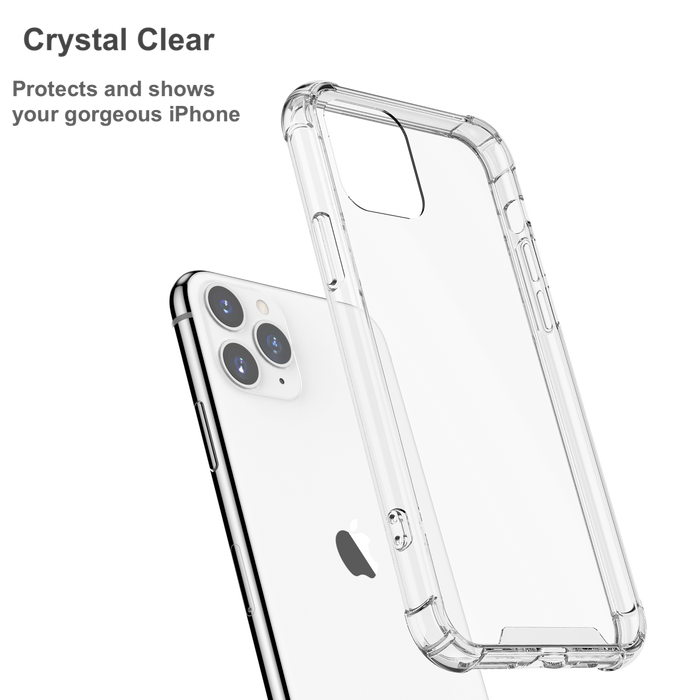 Shockproof Clear Case for iPhone 11 Pro