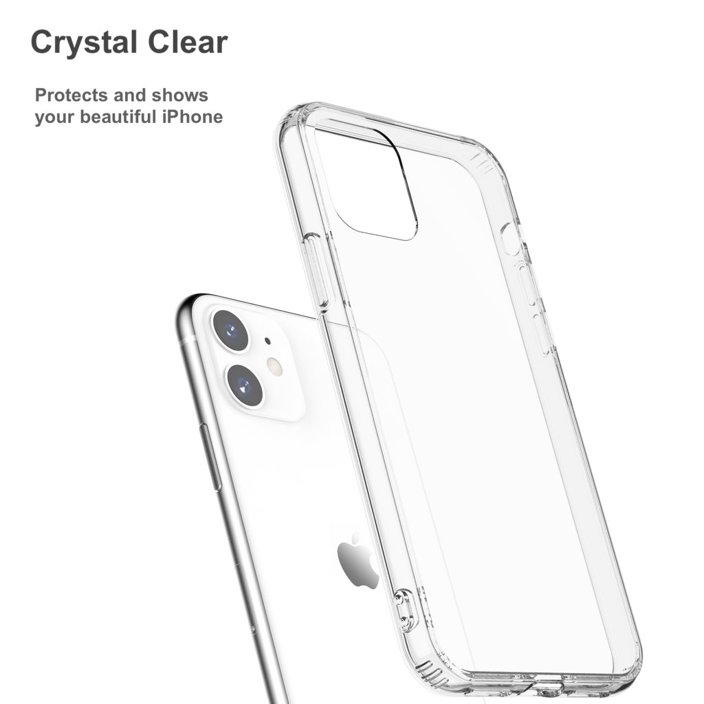 Crystal Clear Case for iPhone 11 with Air-Cushion Design