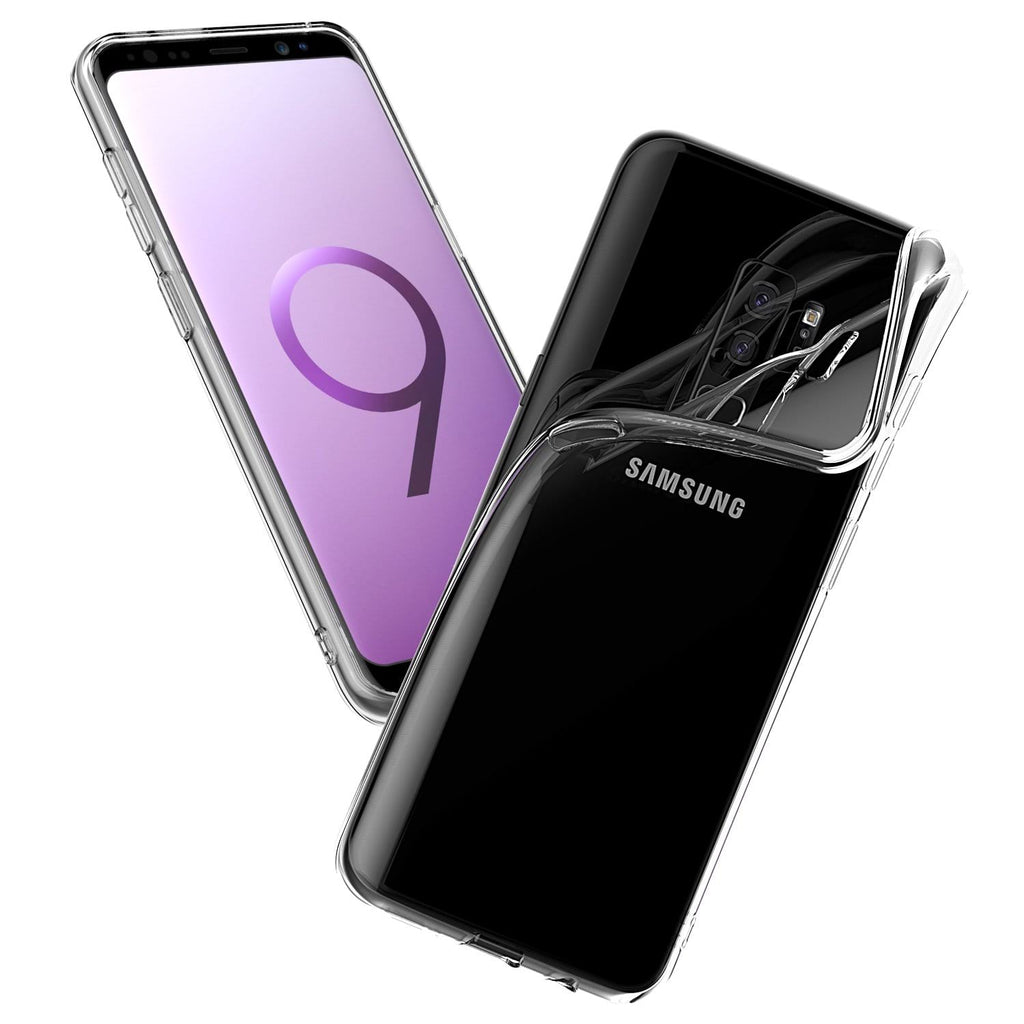 Crystal Clear Case For Galaxy S9 & S9 Plus TPU Rubber Silicone Transparent Cover Protector