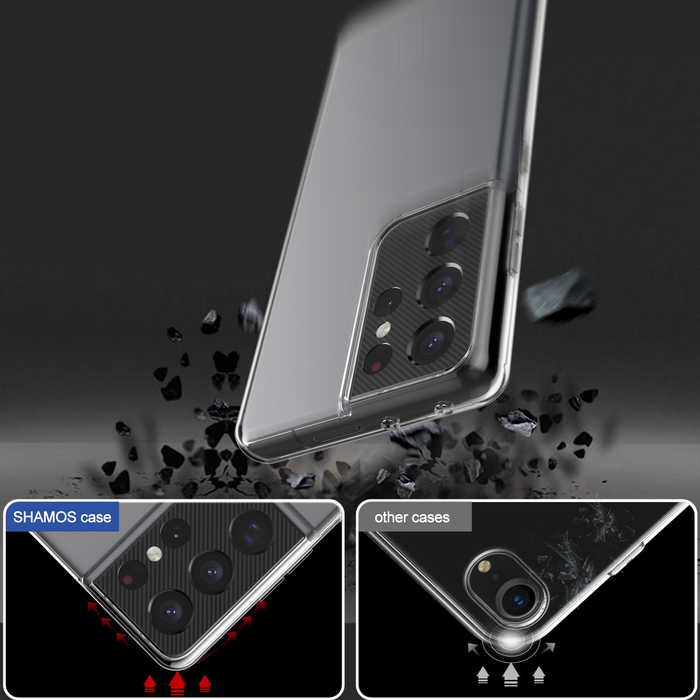 Soft Clear Case for Galaxy S21 / S21+ / S21 Ultra