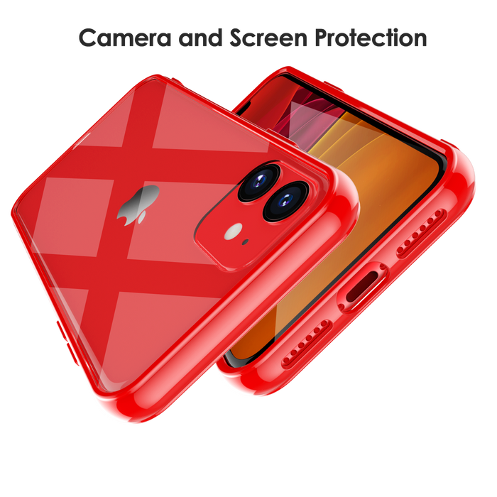Crystal Clear Case for iPhone 11 with Cushion Design