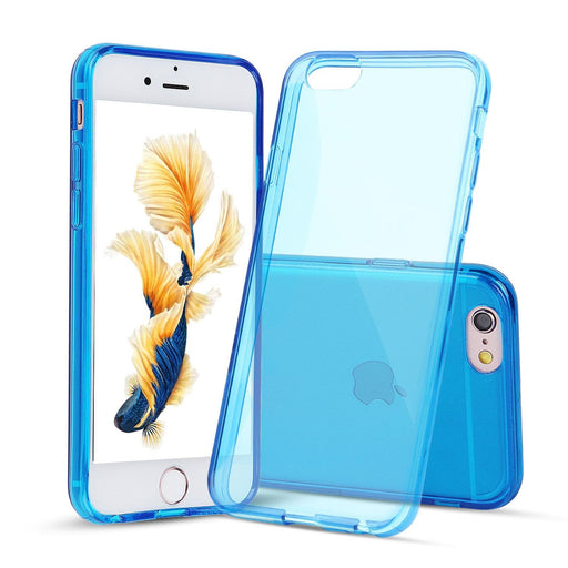 Dark Blue Case for iPhone 6s Plus and 6 Plus Slim Thin TPU Silicone Soft Cover Rubber