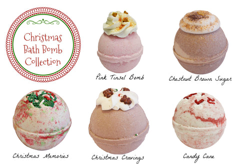 Holiday Bath Bomb Collection