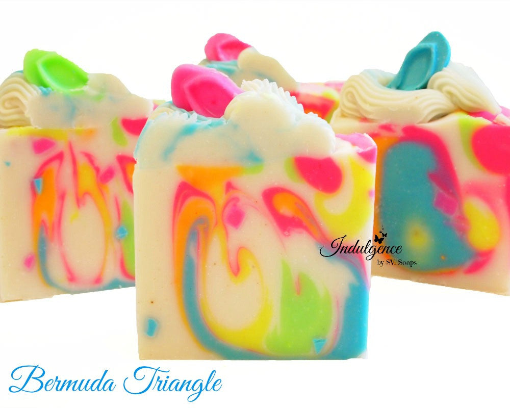 Bermuda Triangle Artisan Vegan Soap