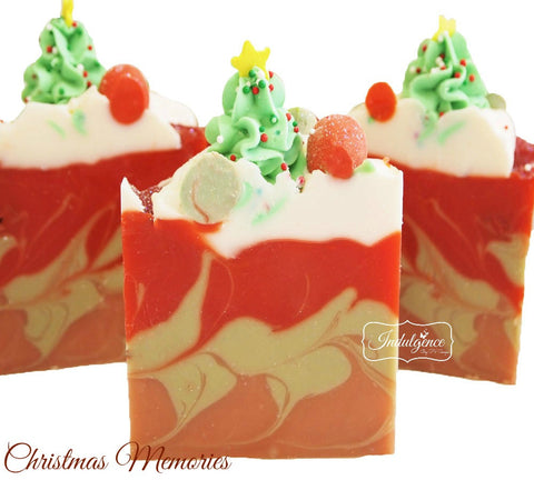 Christmas Memories Artisan Vegan Soap