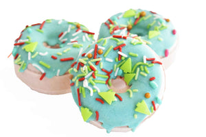 Christmas Cookie Donut Bath Bomb