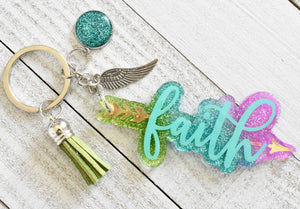 Faith Keychain