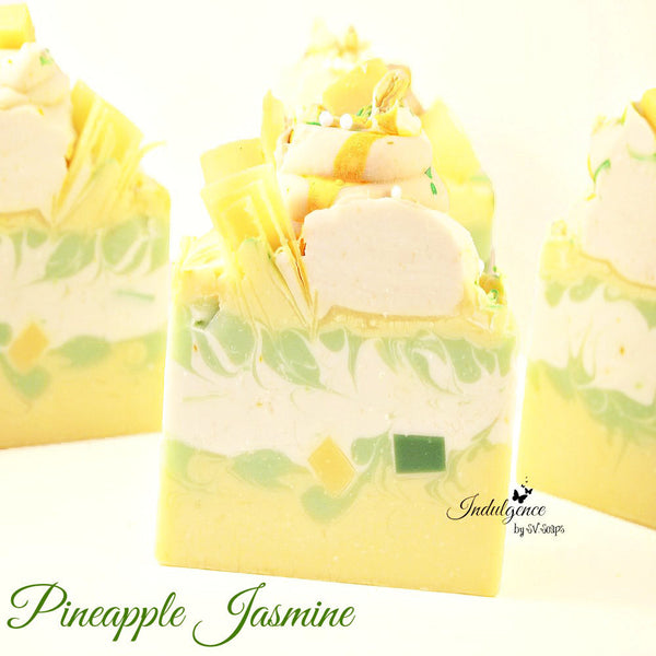 Pineapple Jasmine Artisan Soap