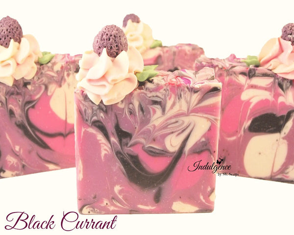 Black Currant Artisan Vegan Soap