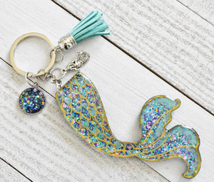 Mermaid Tail Keychain