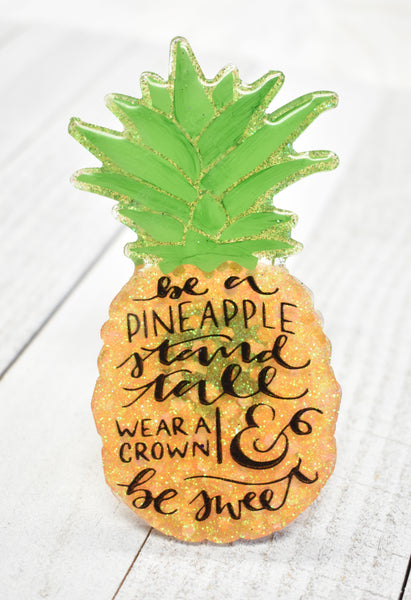 Pineapple Car Vent Air Freshener Kit