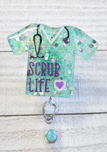 Scrub Life Badge Reel