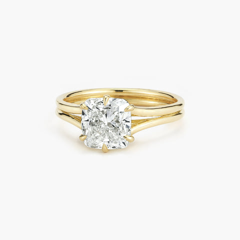Jade Trau Six Prong Solitaire