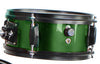 Kids Green Drum Set with Sticks Stool Stands and Cymbal
