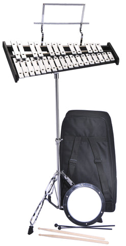 Bell Kit with Stands Sticks and Practice Pad