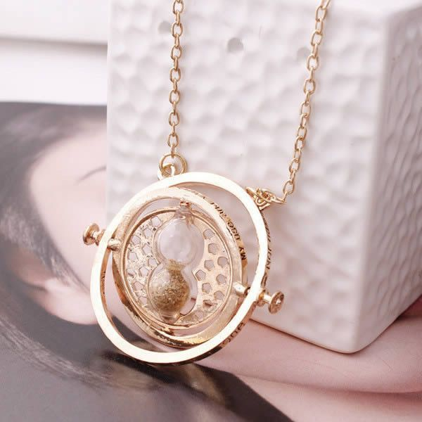 Harry Potter Hourglass Necklace