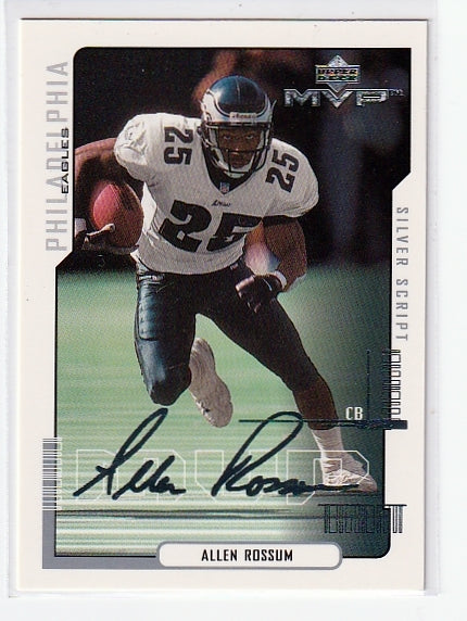 sports cards allen rossum