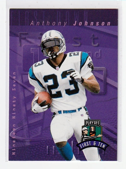 sports cards anthony johnson