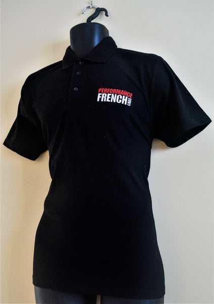 Performance French Cars Magazine Embroidered Polo Shirt