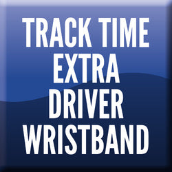 Track Time Extra Driver Wristband - FCS Weekender 2017