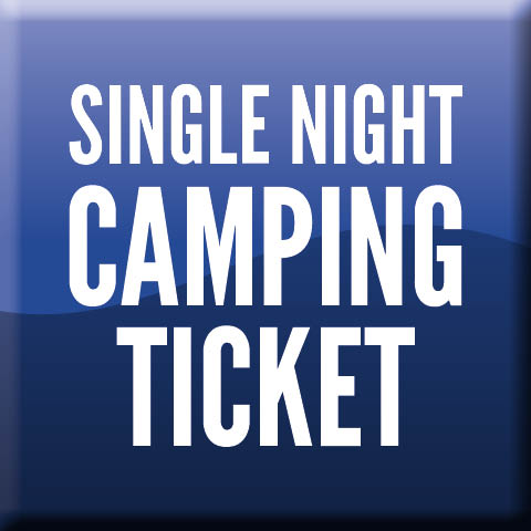 Single Night Camping Ticket (Friday or Saturday options)