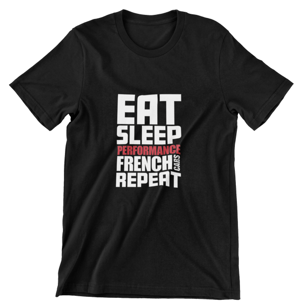 Eat, Sleep, PFC, Repeat T-SHIRT