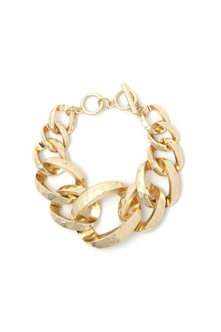 Wide Cuban Chain Bracelet - LockaMe Designs