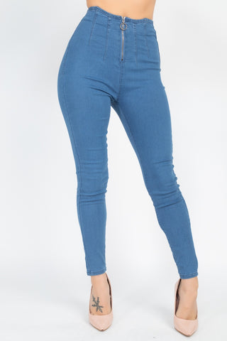 High Waist Denim Jeans