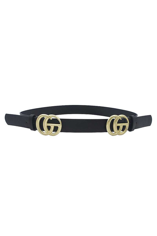 Fashion Double Sided Letter Design Belt