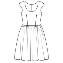 Pattern Creation Dress - LockaMe Designs