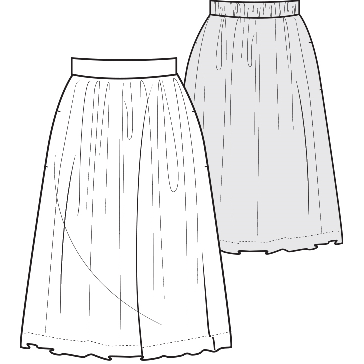Pattern Creation Skirt - LockaMe Designs