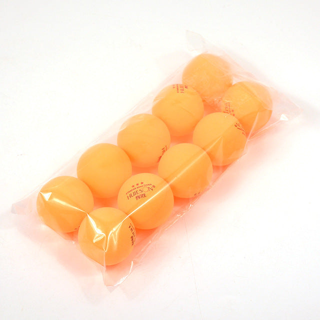 10pcs//Bag 3 Star 40mm Table Tennis Ping Pong Balls For Competition Training Ball