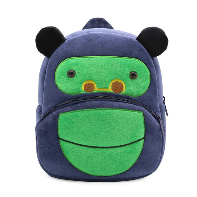 0fa3af88d7 2018 3D Cartoon Plush Children Backpacks kindergarten Schoolbag Animal Kids  Backpack Children School Bags Girls Boys