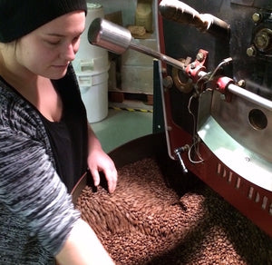 "Production Roaster Lara Prahm is one of Coffee Review's Top ""Women In Coffee"""