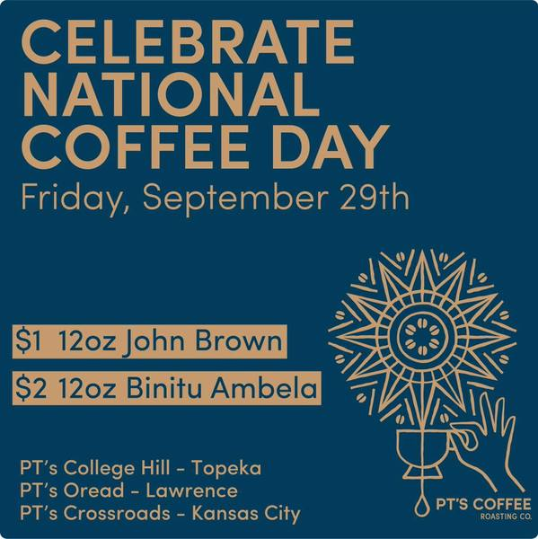 Celebrate National Coffee Day with us!