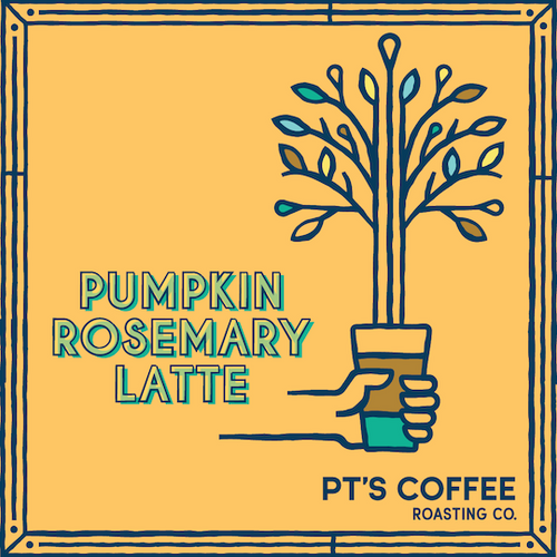 Introducing the Pumpkin Rosemary Latte