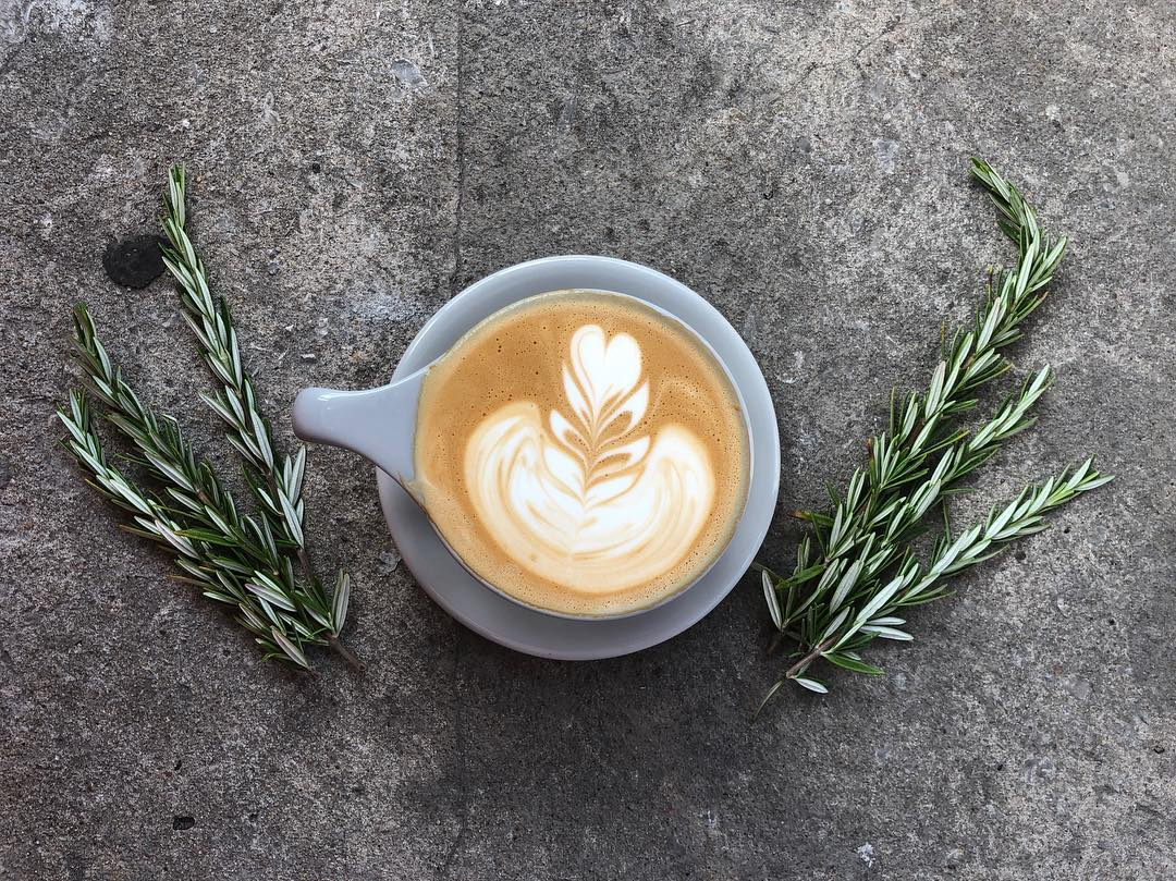 PT's Pumpkin Rosemary Latte
