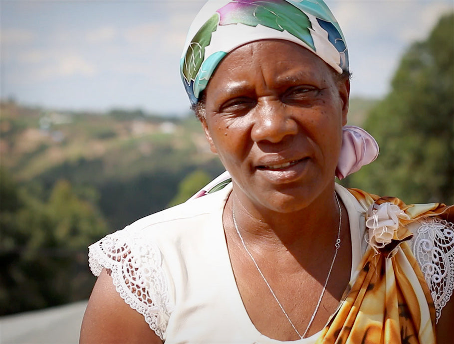 A member of the IWCA Women's Cooperative